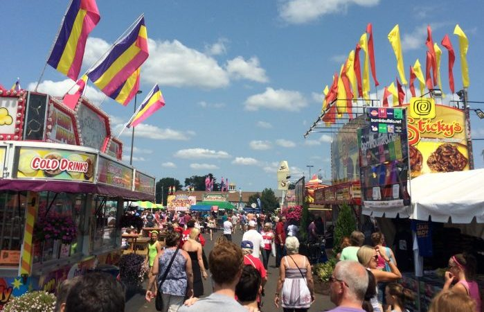 21 Places To Eat Healthy Options at The Erie County Fair