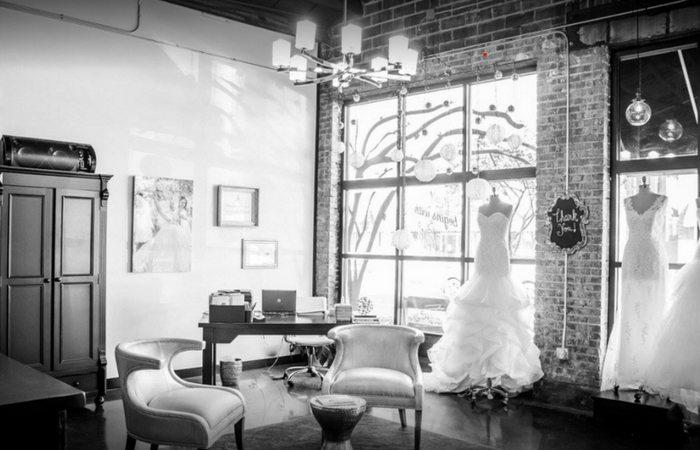 Why You Should Start (and end) Your Wedding Dress Hunt at This Industrial Chic Boutique