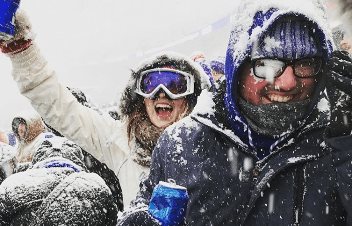 22 Epic Photos Of The Snow Globe Bills Game Vs The Colts Step Out Buffalo