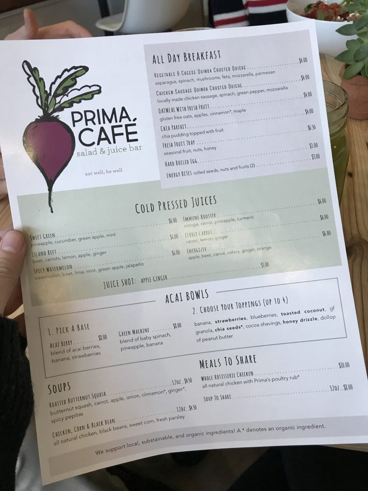 Prima Oliva Cafe in Hamburg
