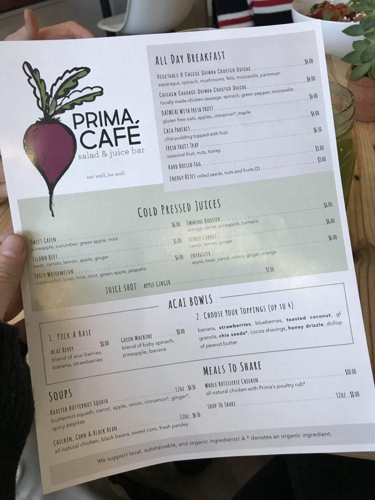 Prima Oliva Cafe in Hamburg