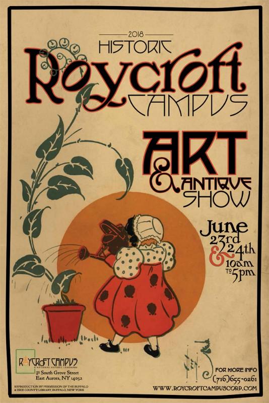 Roycroft Campus Art & Antique Show