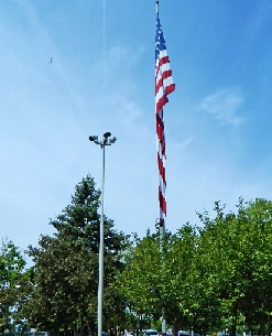 Rotary Flagpole