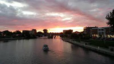 Erie Canal at Niagara River