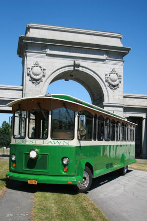 Forest Lawn's Famous History Trolley Tour