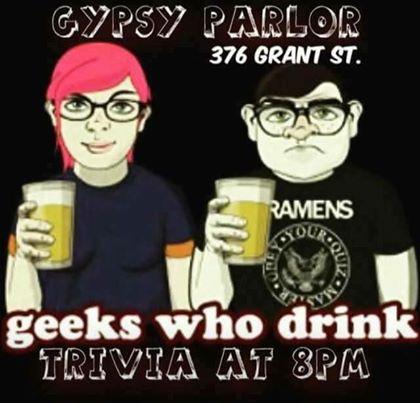 Geeks Who Drink Trivia