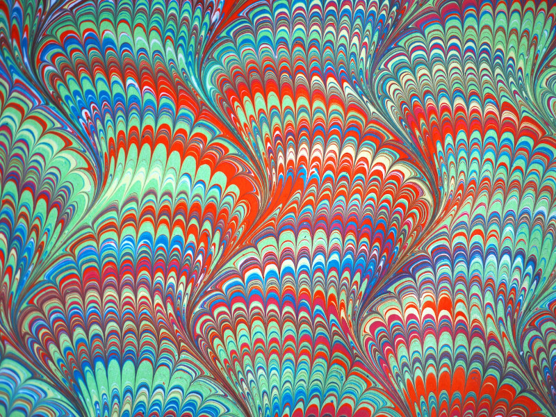 Paper Marbling | A workshop at WNYBAC