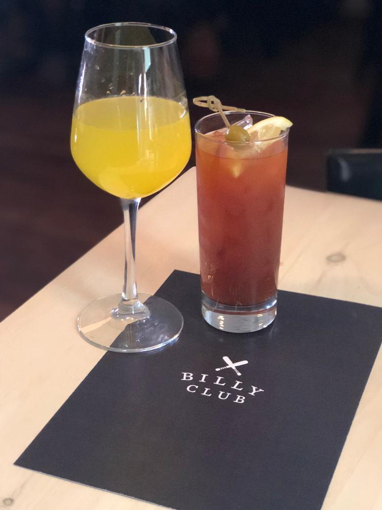 Billy Club Brunch Dranks