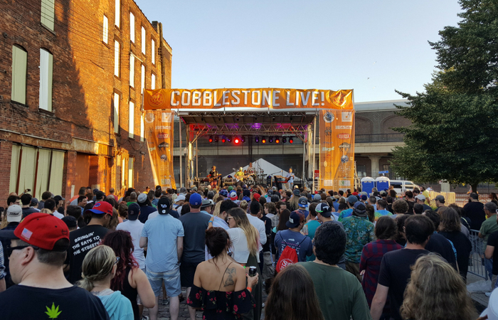 Cobblestone Live Music and Arts Festival Presented by 103.3 The Edge