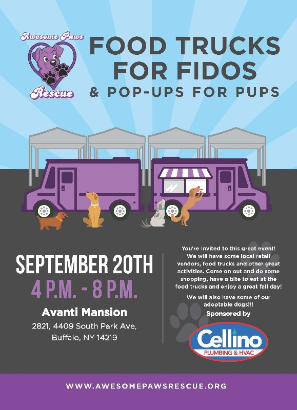 Food Trucks for Fidos and Pop-ups for Pups