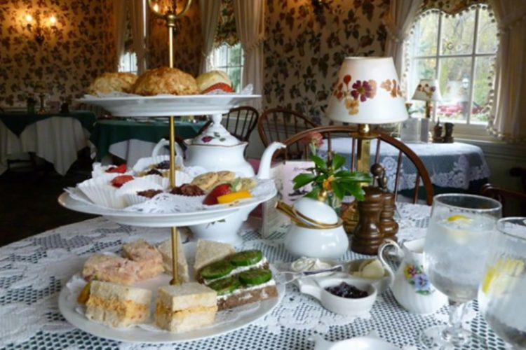 Live Like a Queen at This Adorable English Tea House