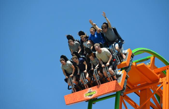 Darien Lake's New Coaster Takes You Straight Up & Down at a 97 Degree Angle