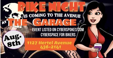 Bike Night On Hertel Avenue