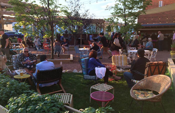 3 Killer Outdoor Spots to Get Your Booze On in Larkinville This Summer