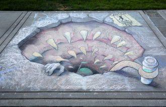 Sidewalk Chalk festivals in Perry & Lockport