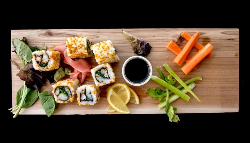 Healthy Options Sushi Rolling Class with Chef Kevin