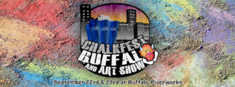 Chalkfest Buffalo and Art Show 2018