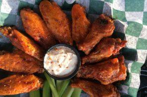 Wings from Bar Bill in East Aurora