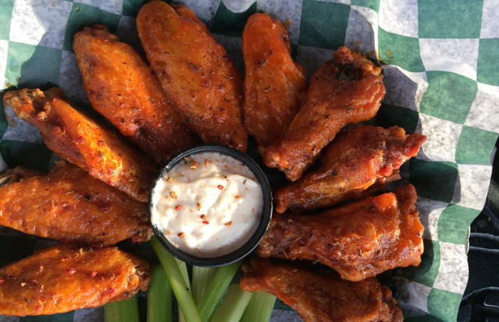 Wings from Bar Bill in East Aurora