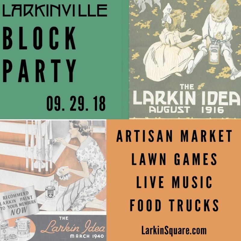 Larkinville Block Party