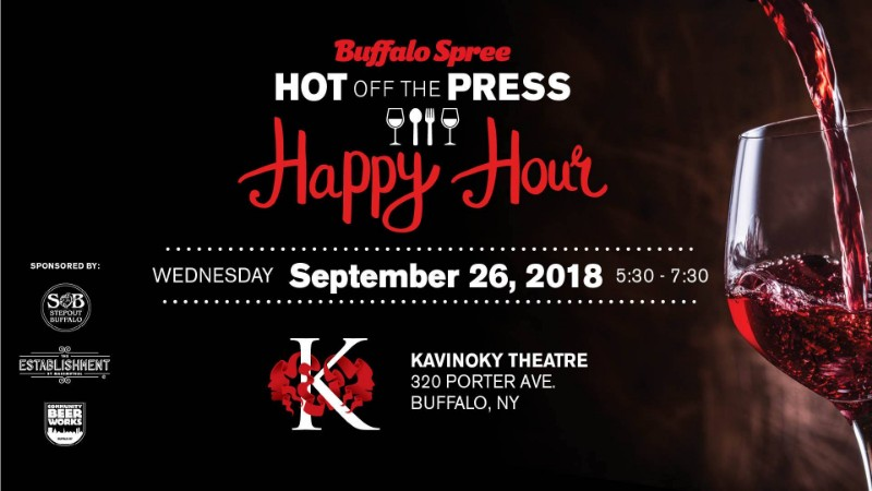Hot Off The Press Happy Hour