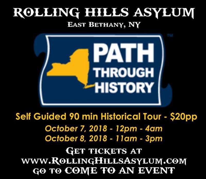 Path Through History Tours at Rolling Hills Asylum