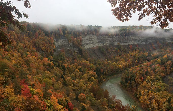 4 Scenic Fall Hikes to Take North of Buffalo & Beyond