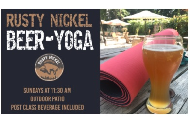 Rusty Nickel Beer-Yoga