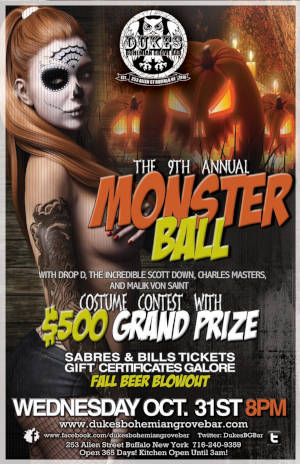 The 9th Annual Monster Ball