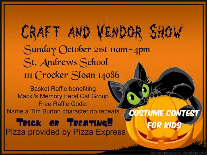 October Craft and Vendor Show @St. Andrew Sloan