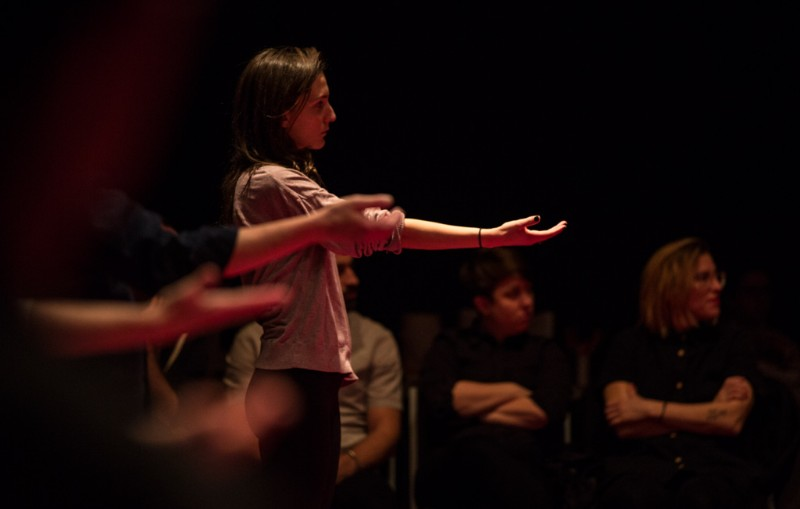 Manmade Earth & Light/Station at Torn Space Theatre