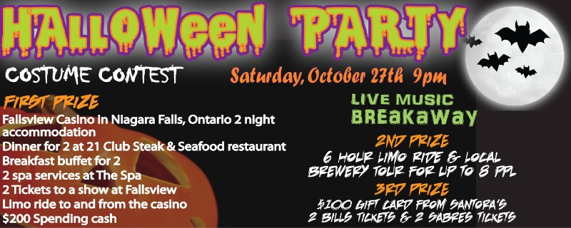 Santora's Annual Halloween Party!
