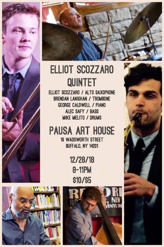 Elliot Scozzaro Quintet at Pausa Art House