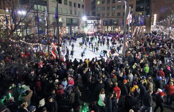 Downtown Christmas Tree Lighting Presented by Five Star Bank