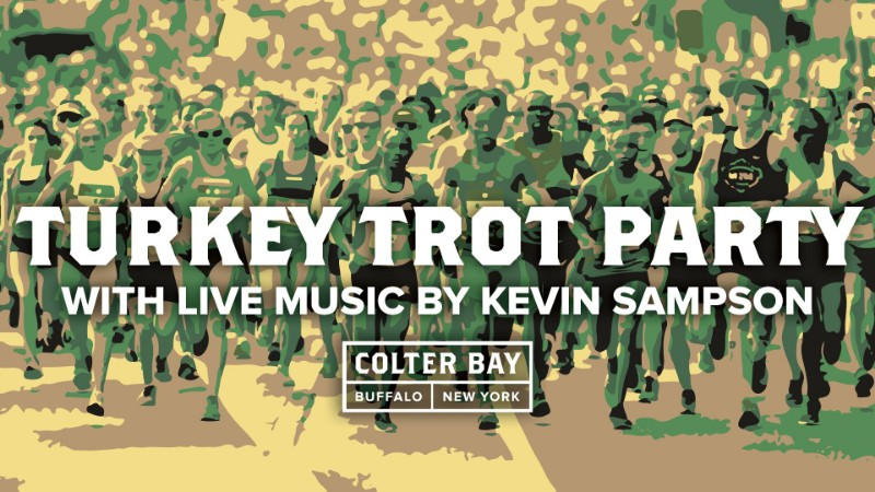 Turkey Trot Party with Kevin Sampson Live at Colter Bay!