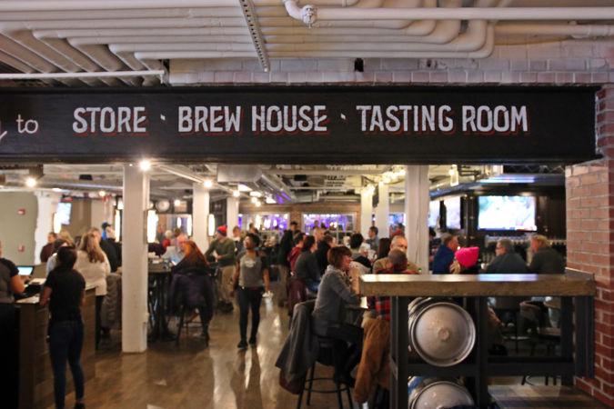 Labatt Brew House and Draft Room