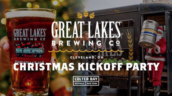 Christmas Kickoff Party with Great Lakes Brewing Co! - Step Out Buffalo
