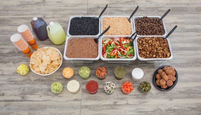Get a Salsarita's Taco Bar Delivered To Your House for Your