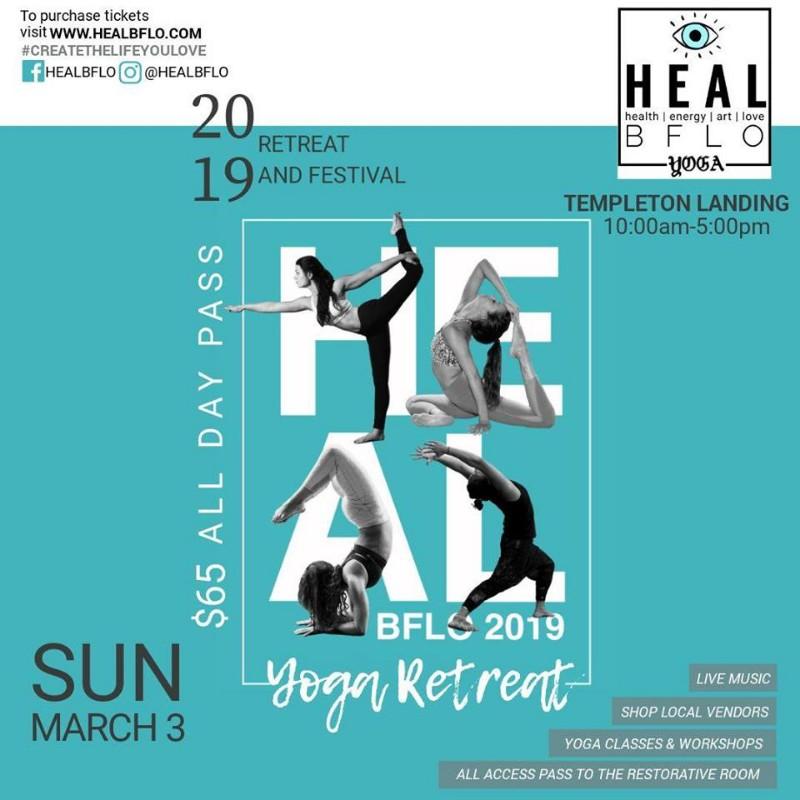 HEAL BFLO Yoga Retreat and Festival