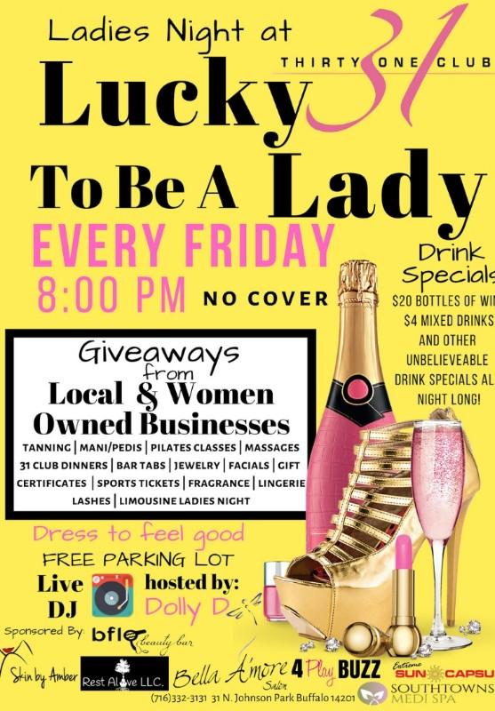 Ladies Night at 31 Club