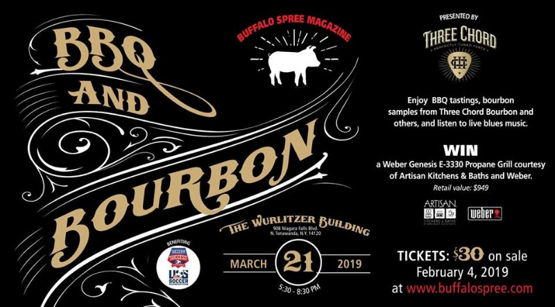 BBQ & Bourbon presented by Three Chord Bourbon