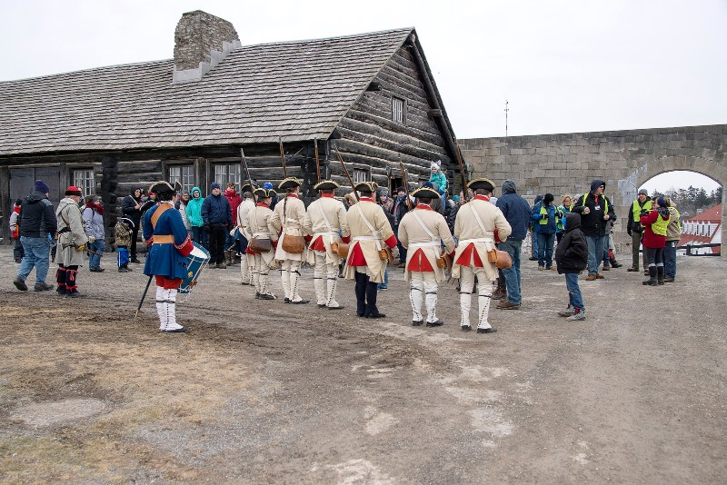 Winter Woods Battle at Old Fort Niagara