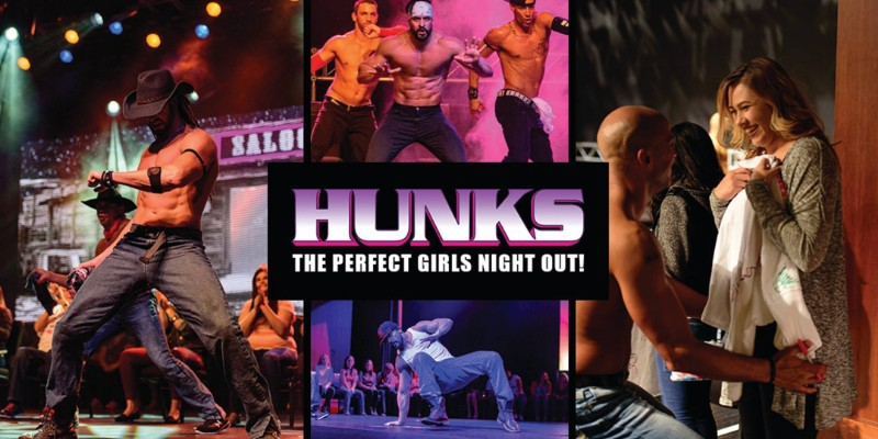 HUNKS The Show at Dukes Bohemian Grove Bar