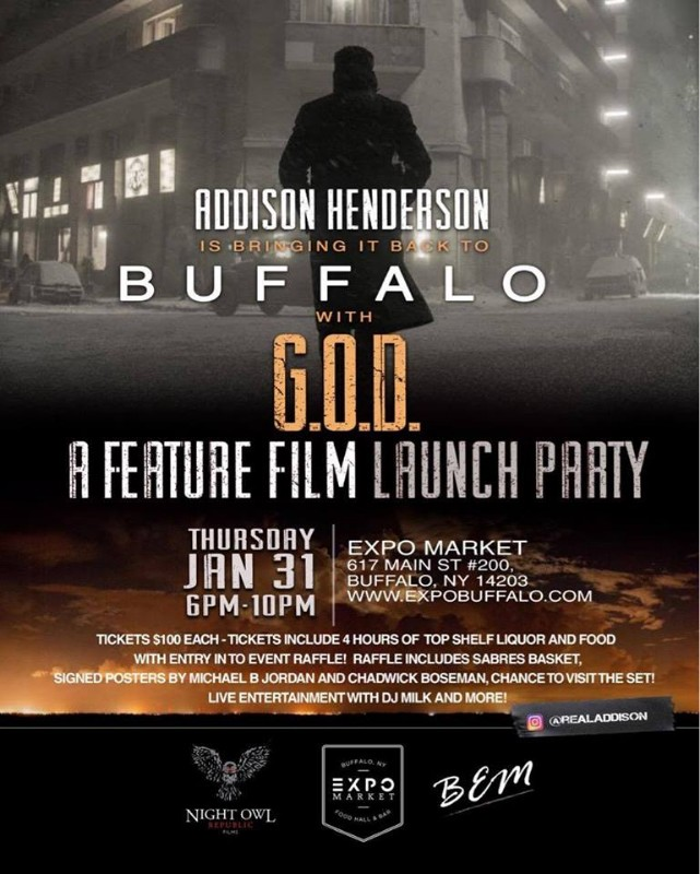 G.O.D. | A Feature Film Launch Party