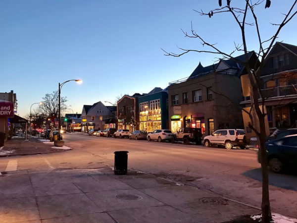 Elmwood Strip