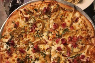 Prosciutto pizza from Giacobbi's Cucina Citta in Allentown