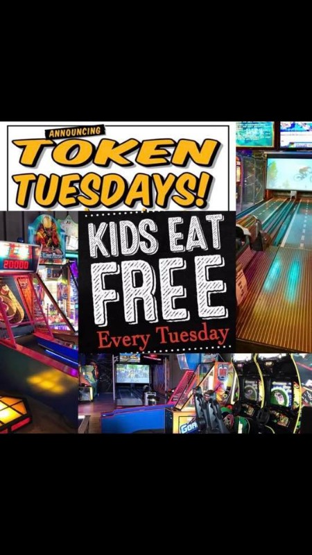 KID EAT & PLAY FREE TUESDAYS