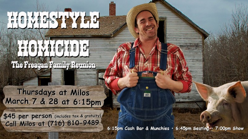Homestyle Homicide - Mystery Dinner Theatre