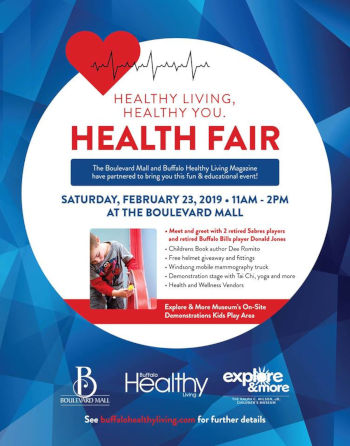 Family Health Fair- Explore and More Museum +Sabres Meet and Greet
