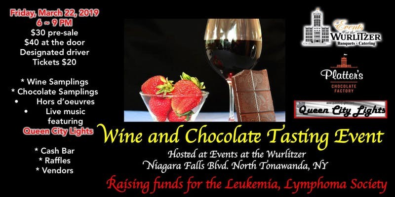 Wine and Chocolate Tasting Supporting The Leukemia, Lymphoma Society